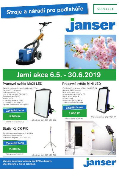 Jarní akce Janser 1