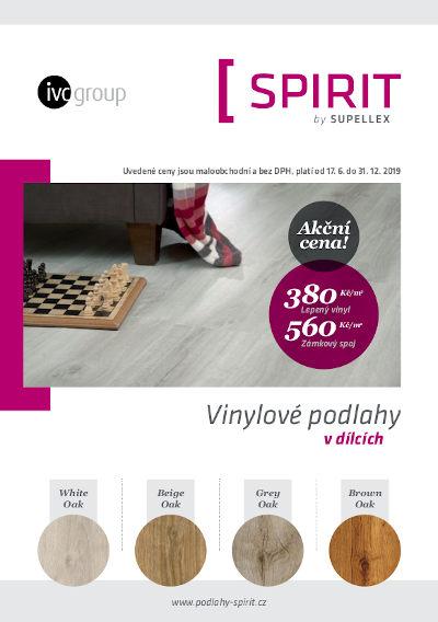 Vinylové podlahy Spirit za akční cenu 1