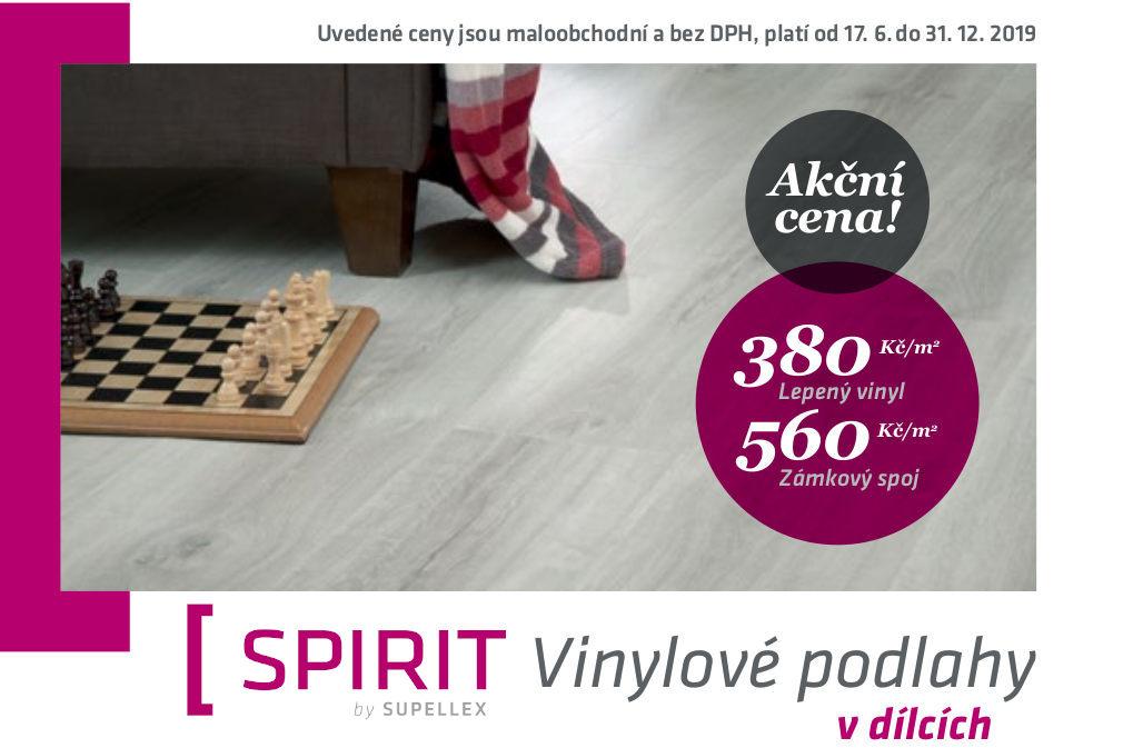 Vinylové podlahy Spirit za akční cenu