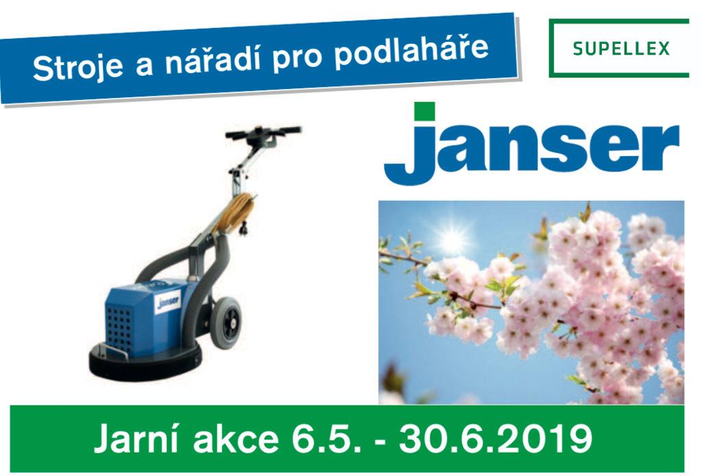 Jarní akce Janser