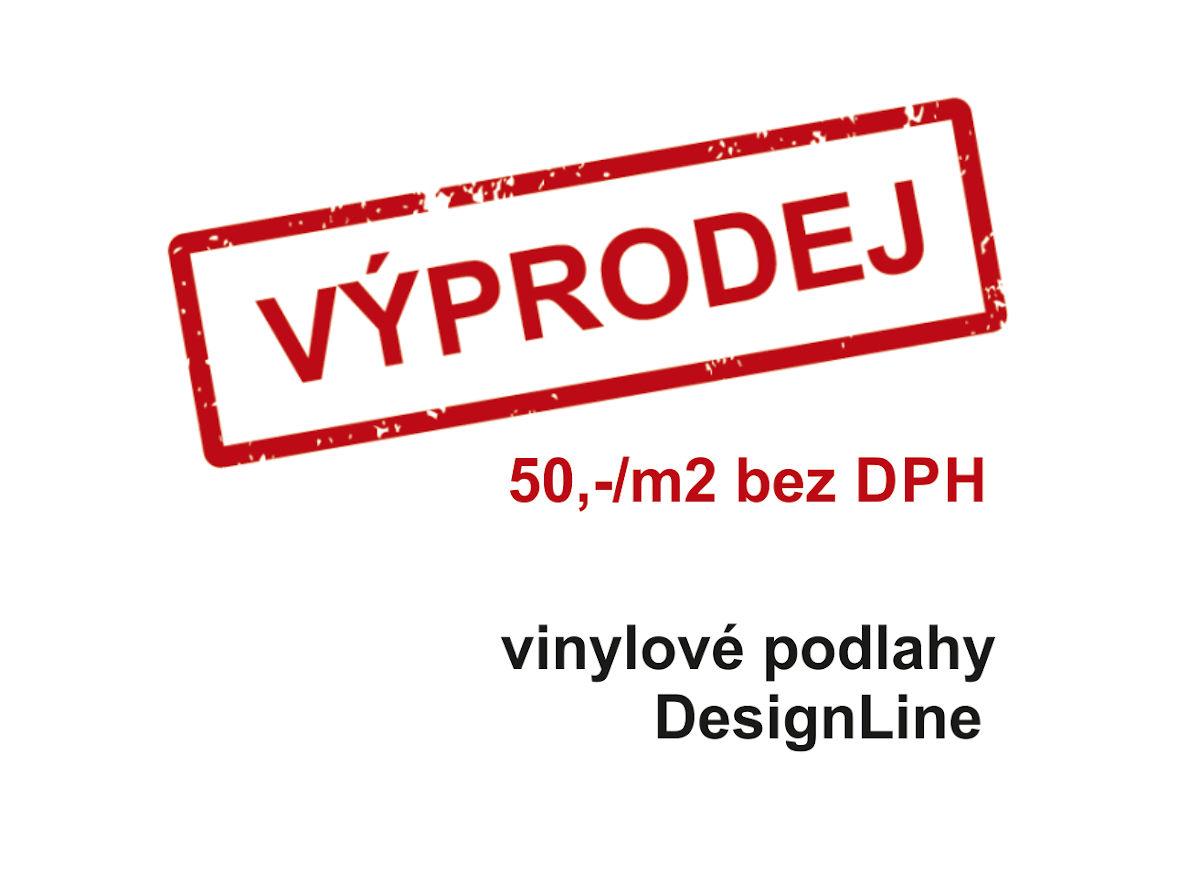 Výprodej vinylových podlah DESIGNline